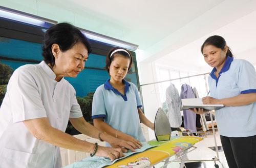 dịch vụ giúp việc gia đình uy tín tại tphcm